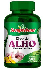 OLEO DE ALHO CAPSULAS 90X250MG SEMPREBOM
