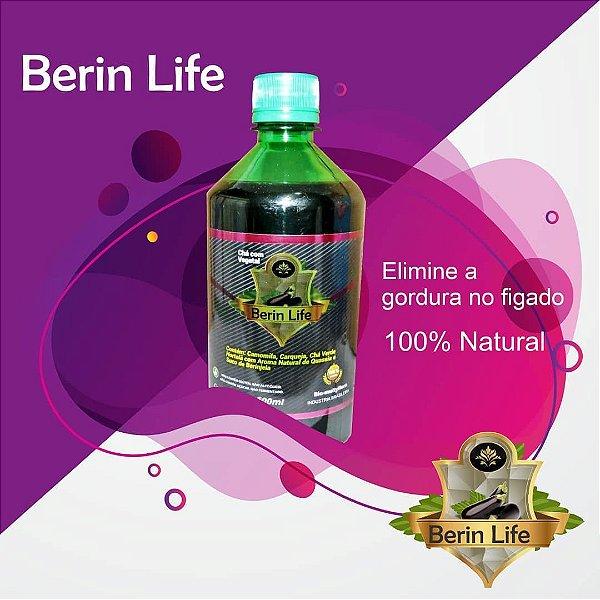 BERIN LIFE 500ML - GORDURA NO FIGADO, COLESTEROL, ACIDO URICO - BERINLIFE