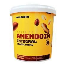 PASTA DE AMENDOIM MANDUBIM INTEGRAL 450G