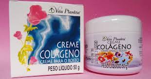 Creme Colágeno P/ Rosto 50g Vita Plankta