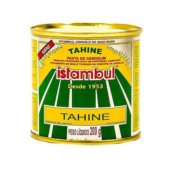 PASTA DE GERGELIM (TAHINE) - 200G - ISTAMBUL