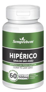 Hipérico - Erva de São João (Mentrasto) - 60 cápsulas - 500mg Semprebom