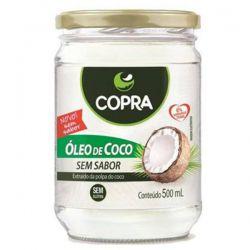 OLEO DE COCO SEM SABOR E SEM CHEIRO 500ML - COPRA