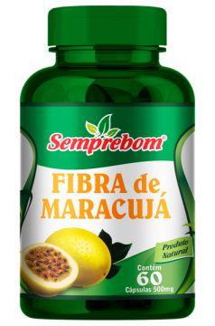 FIBRA DE MARACUJA PASSIFLORA 60 CAPSULAS - 500MG - SEMPREBOM