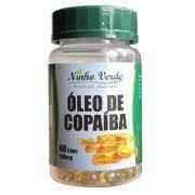 OLEO DE COPAIBA - 60 CAPSULAS - 500 MG - NINHO VERDE