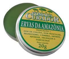 POMADA LATINHA ERVAS DA AMAZONIA 20G