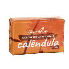 Sabonete Natural De Calêndula - 120g - Ervas de Cheiro