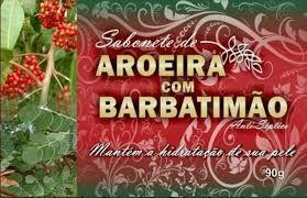 SABONETE DE AROEIRA COM BARBATIMAO - 90G - BIONATURE