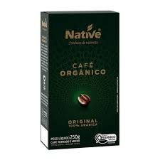 CAFE ORGANICO NATIVE 250G 100 ARABICA