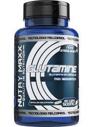 Glutamine (Glutamina em Cápsulas) - 60 Cápsulas - 500mg - Melcoprol