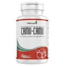 Camu-Camu - 60 Cápsulas - 500mg - Melcoprol