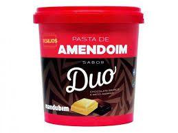 PASTA DE AMENDOIM MANDUBIM CHOCOLATE DUO 450G