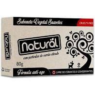 Sabonete Vegetal Suavetex (Com Carvão Ativado) - 80g - Orgânico Natural