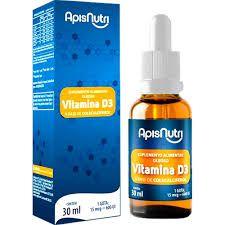 Vitamina D3 - 30ml - ApisNutri