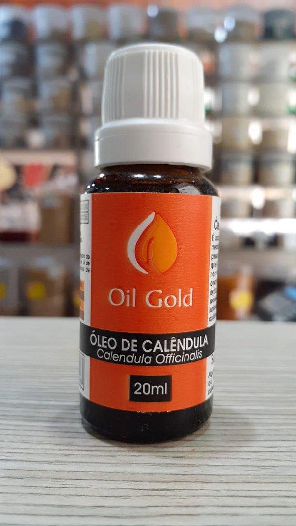 OLEO DE CALENDULA - 20ML - OIL GOLD