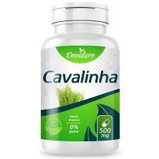 CAVALINHA - 60 CAPSULAS - 500MG - DENATURE