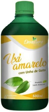 UNHA DE GATO COM UXI AMARELO 500ML DENATURE