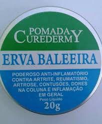 POMADA LATINHA ERVA BALEEIRA 20G