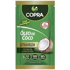 OLEO DE COCO EXTRA VIRGEM SACHE 15ML COPRA