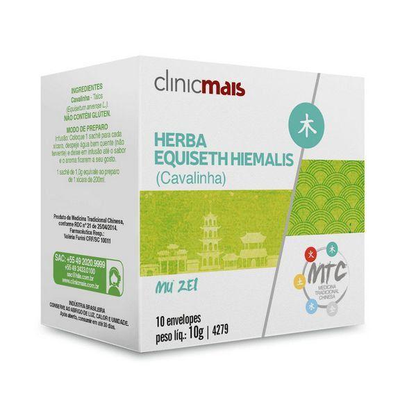 CHA DE CAVALINHA HERBA EQUISETH HIEMALIS - 10 ENVELOPES - CLINICMAIS
