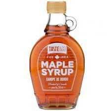 Xarope de Bordô Maple Syrup - 250ml - Taste&Co (SOB ENCOMENDA)