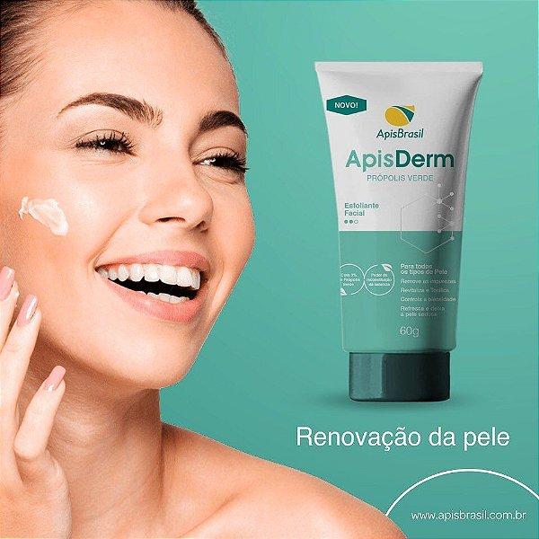 Esfoliante Facial Própolis Verde Apis Derm - 60g - Apis Brasil