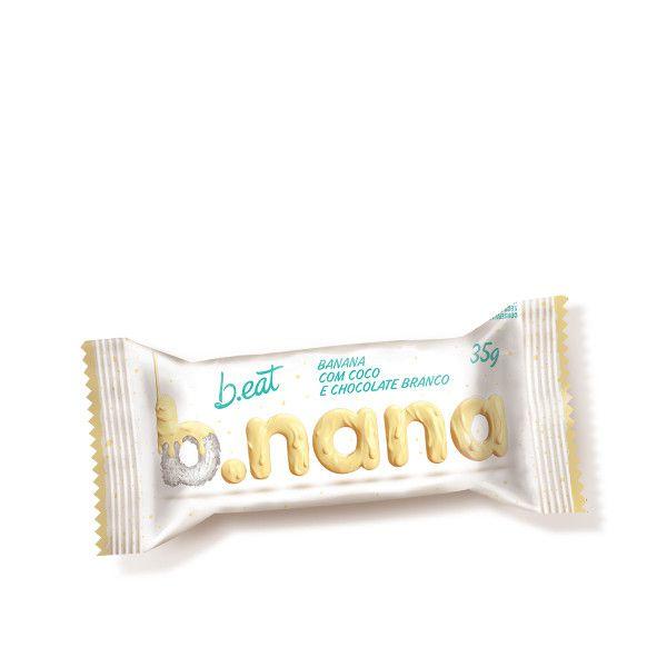 BANANA COCO E CHOCOLATE BRANCO ZERO ACUCAR BEAT