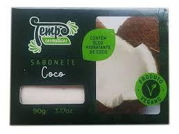 Sabonete de Coco Vegano - 90g - Tempo Cosméticos