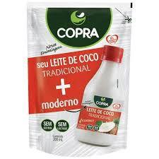 LEITE DE COCO TRADICIONAL 200ML COPRA POUCH