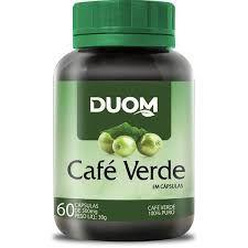 CAFE VERDE 60 CAPSULAS 500MG DUOM
