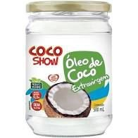 OLEO DE COCO EXTRA VIRGEM COCO SHOW COPRA 500ML