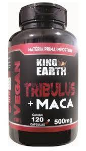 TRIBULUS C/ MACA PERUANA 120 CAPSULAS 500MG - KINGEARTH