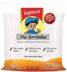 GOMA PRONTA PARA TAPIOCA DA TERRINHA 500G