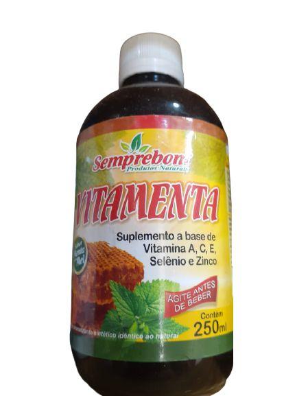 Vitamenta (Suplemento a base de Vitamina A, C, E) - 250ml - Semprebom