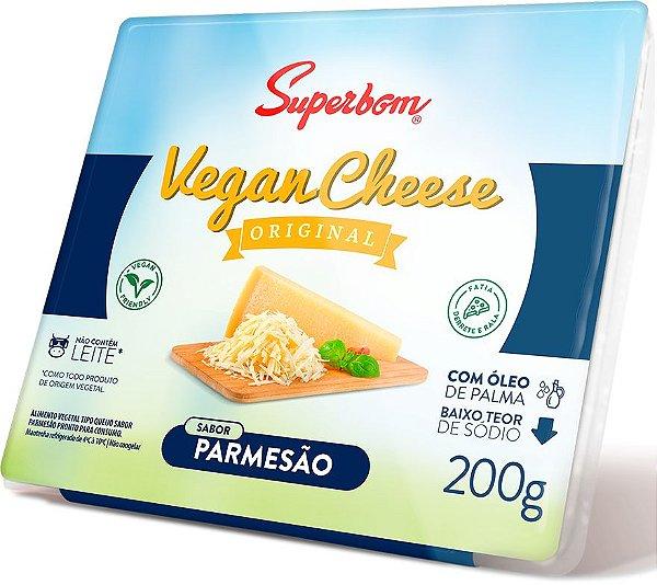 Queijo Vegano Parmesão - 200g - Superbom [REFRIGERADO]