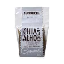 MACARRAO TALHARIM CHIA, ESPINAFRE E ALHO  (S/ GLUTEN, S/ LACTOSE, VEGANO) - 200G - SUNDHED FOODS
