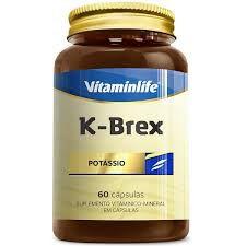 Potássio K-Brex (Vitaminas e Minerais) - 60 Cápsulas - Vitaminlife