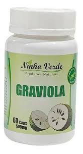 Graviola - 60 Cápsulas de 500mg - Ninho Verde
