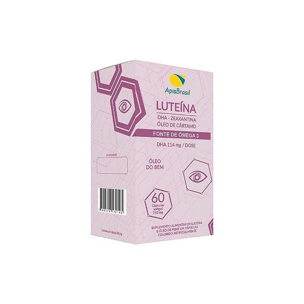 Luteina + Zeaxantina + Catamo Capsulas 60 X 750mg Apis Brasil