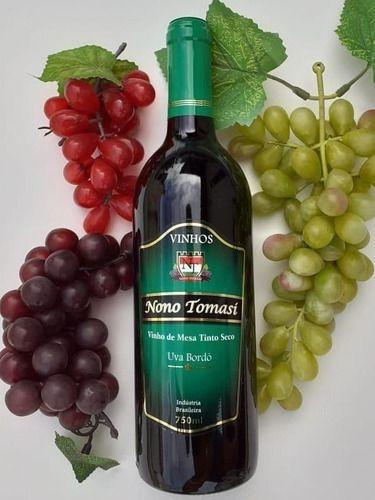 VINHO DE MESA TINTO SECO 750 ML NONO TOMASI