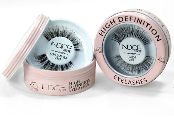 High Definition Eyelashes - Pink