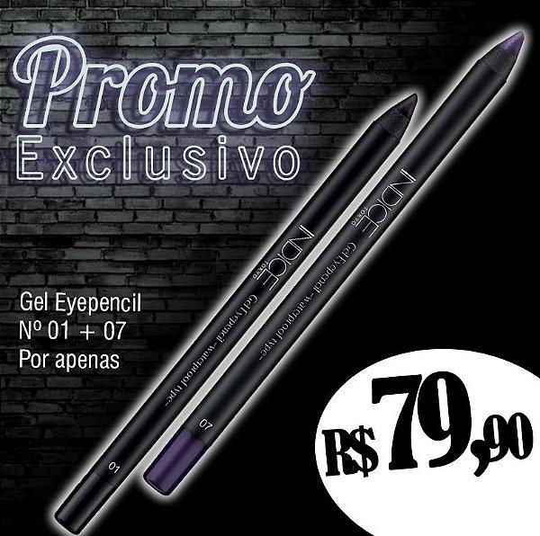 Promo Exclusivo / Gel Eyepencil nº01 / Gel Eyepencil nº07