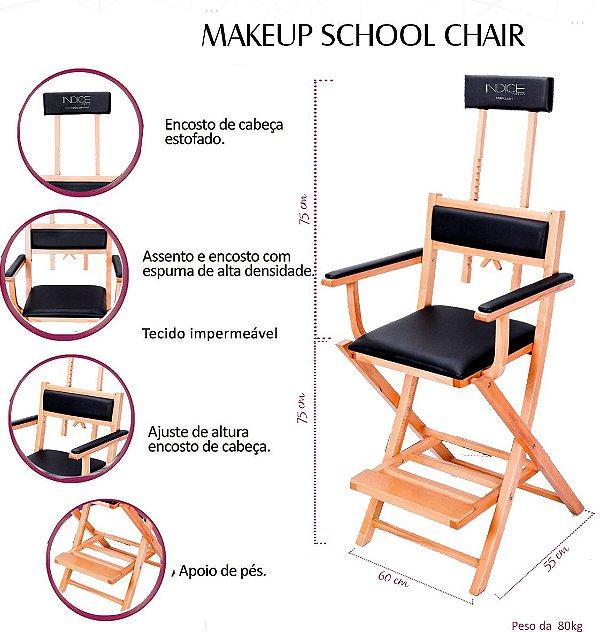 Cadeira Studio Estofada  - Madeira