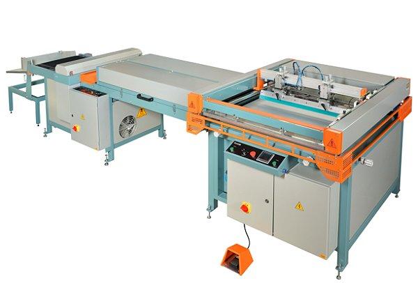 LINEA UV75105 STD Impressora serigráfica 3/4 automática