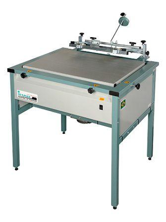 SERIPRESS 5070 Impressora serigráfica manual a vácuo