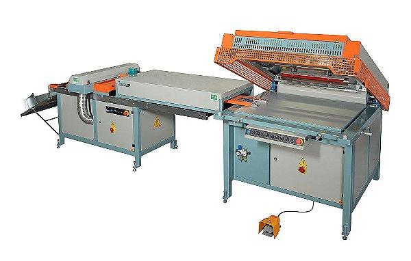 LINEA UV5575 ECO Impressora serigráfica 3/4 automática