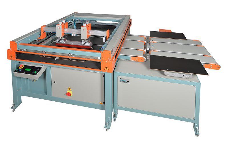 OLYMPIC OLG Impressora serigráfica automática para vidro e MDF