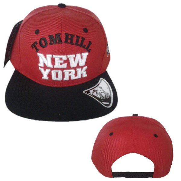 Boné Tom Hill New York Marca Original - Aba Reta f66af9c8fbe