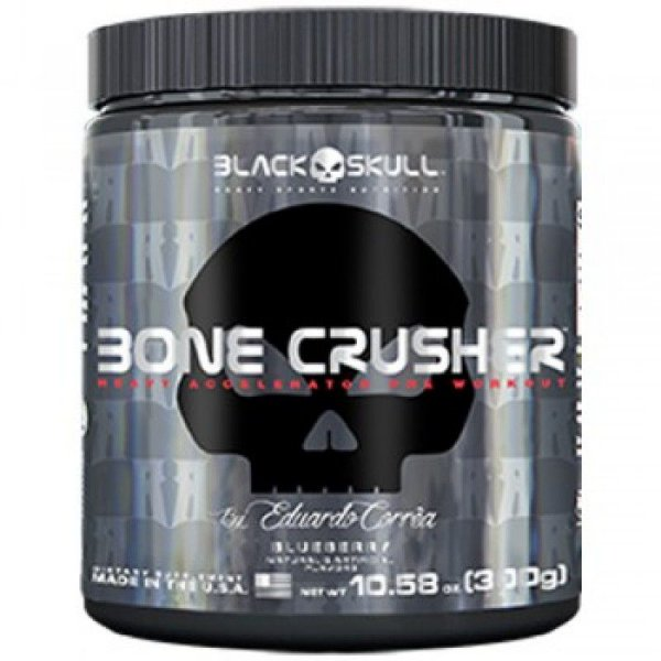 Bone Crusher 300g (60 doses) - Black Skull