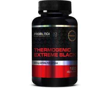 Thermogenic Extreme Black 420mg - Probiotica